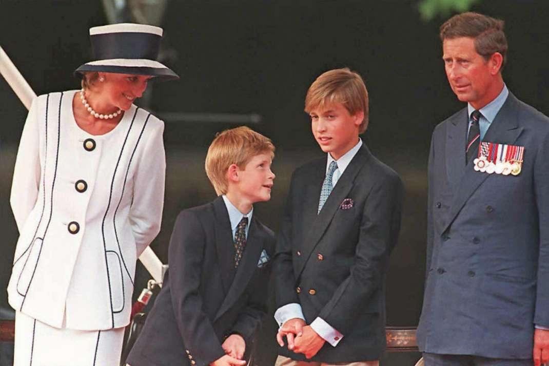 carlo diana principe william henry bambini