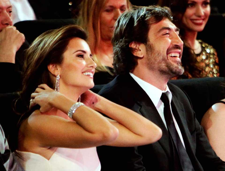 Penélope Cruz e Javier Bardem.