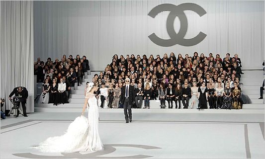 Karl Lagerfeld le sue sfilate