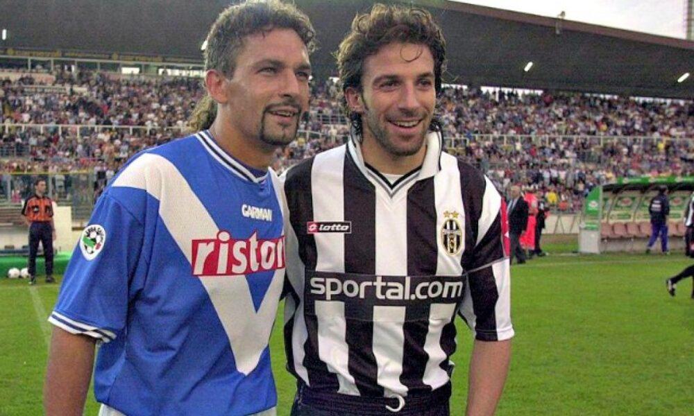 Roberto Baggio e Alex Del Piero