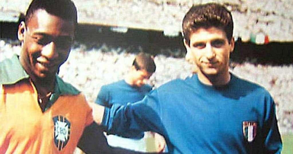 Pelé e Gianni Rivera
